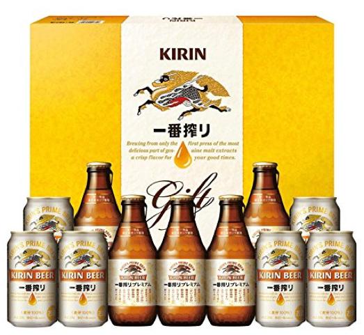 KIRIN 一番搾り 飲み比べ