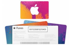 iTunesカードコード