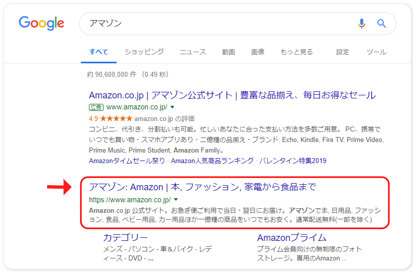 WebサイトからのAmazon登録方法1