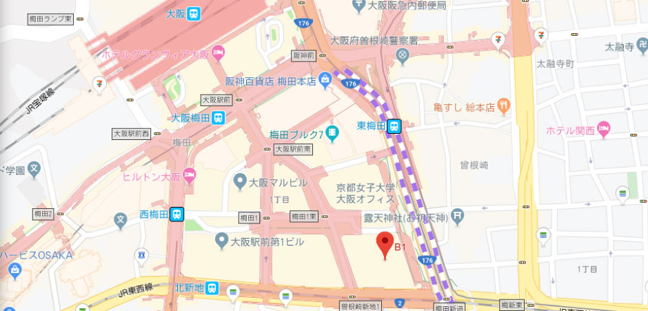 アイギフトの地図