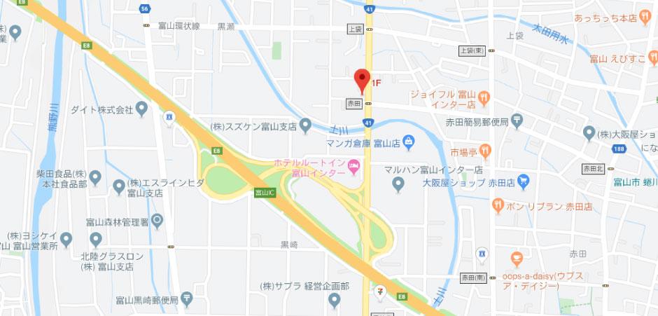 アップルチケットの地図