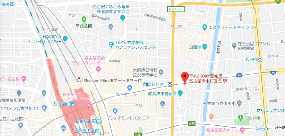 チケットセンター地図